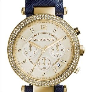 Michael Kors •Authentic• Leather Band Watch #2280